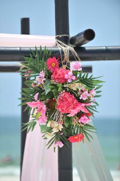 9 Best A Flamingo Pink Beach Wedding Images On Pinterest