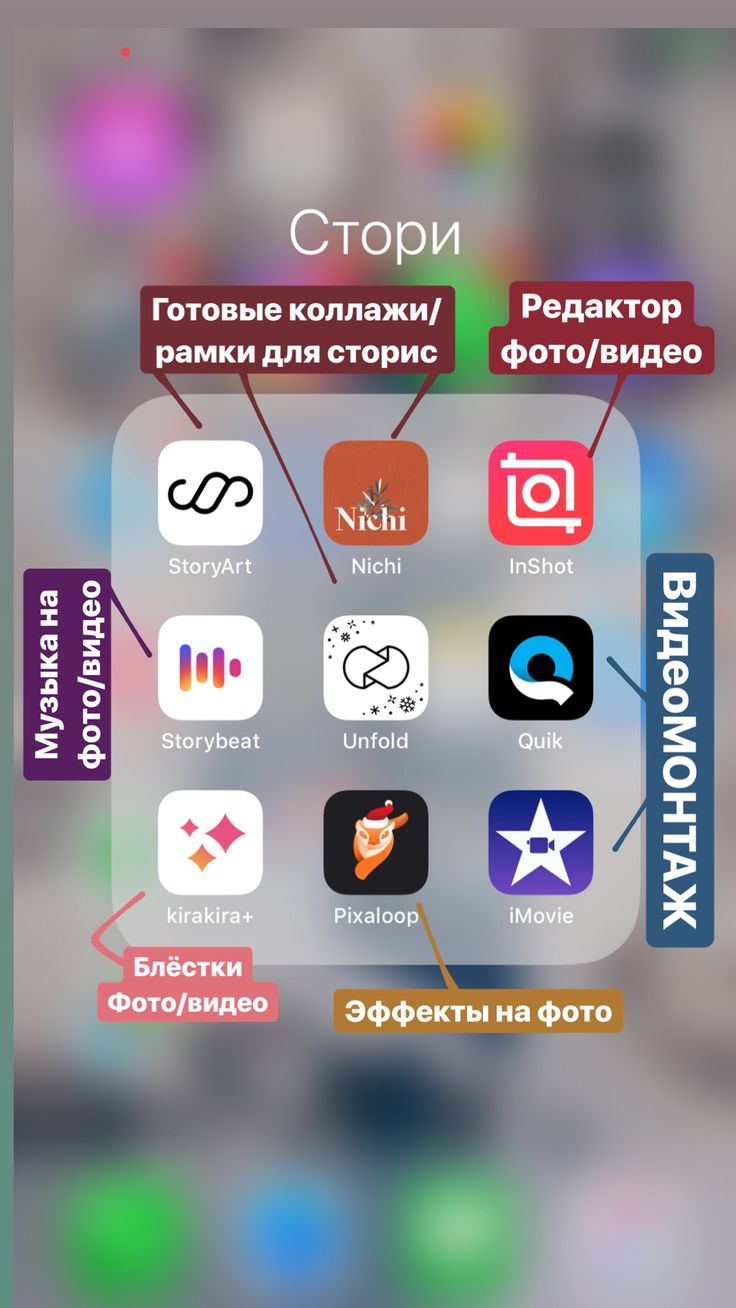 Программы для обработки фотографий в инстаграм