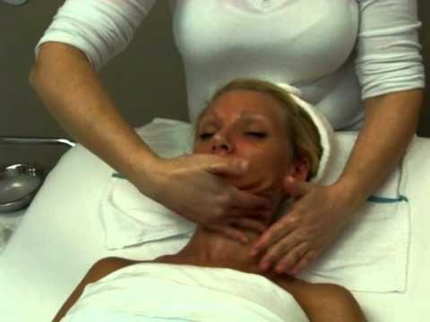 European Facial Massage Demo