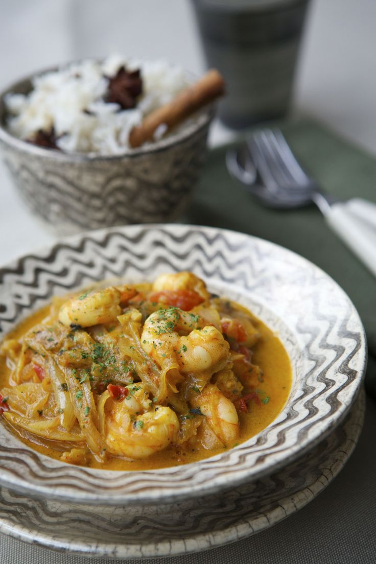 Low Salt Recipes - King Prawn Curry - In The Playroom