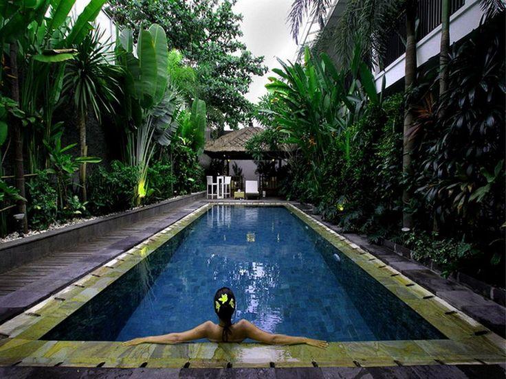 Swiming Pool Grand Serella Kuta Bali