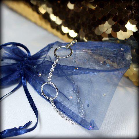 Bracelet of the day Silver bracelet with circles www.stopandwearjewelry.com