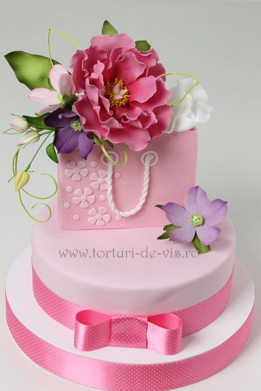 689 best Female Birthday Cakes images on Pinterest Female