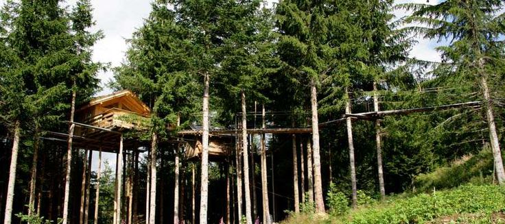 Stay in a treehouse in the French Alps - LOVE !  Les Ecotagnes || Bienvenue aux Cabanes Dans Les Arbres