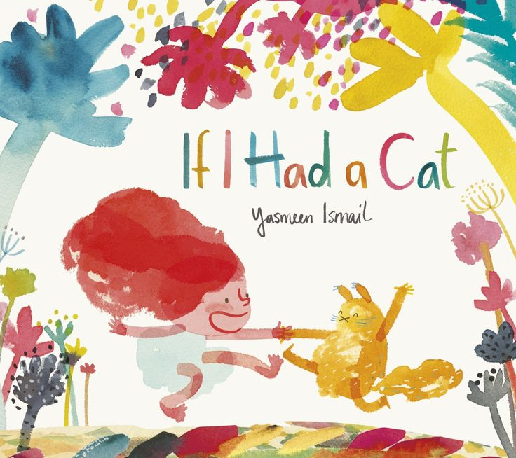 Love it already & we've only just seen the cover! New book by @Yasmine Naveda Ismail 'If I Had a Cat'