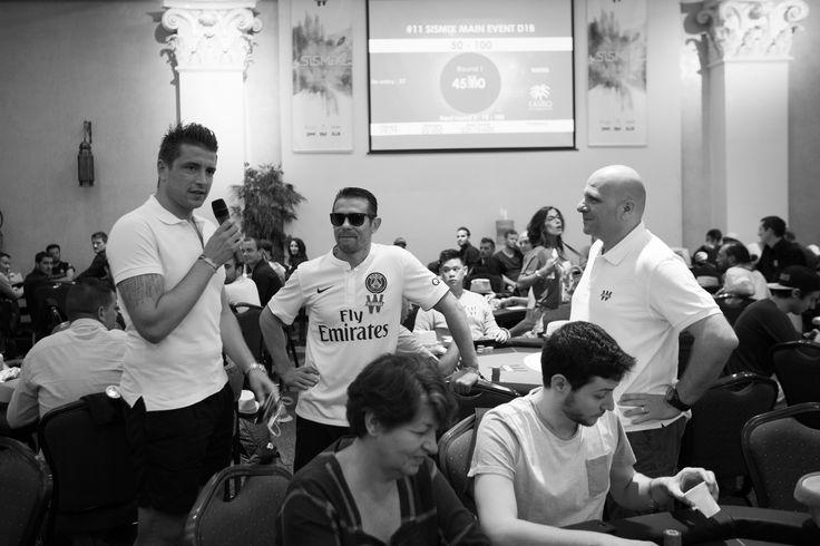 Shuffle Up & Deal Day 1A avec Kool Shen, Matthieu Duran et le footballeur Cédric Carrasso #Winamax #SISMIX #poker #music #festival. Crédit photo: Caroline Darcourt