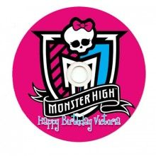 Monster High Personalized CDR