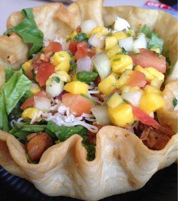 Qdoba Mexican Grill Copycat Recipes: Summer Mango Salad