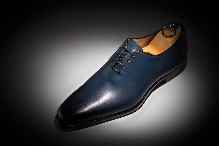 LodinG Richelieus Milan Bleu Marine Box Shoes
