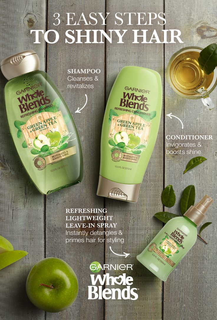 Want to add a little life and shine to your strands? Find Your Blend to revitalize it. Garnier Whole Blends Refreshing Haircare is packed with Green Apple and Green Tea extracts to cleanse, revitalize and boost shine. Plus the Refreshing Lightweight Leave-in Spray instantly detangles and primes hair before styling. Discover Refreshing Haircare Now.