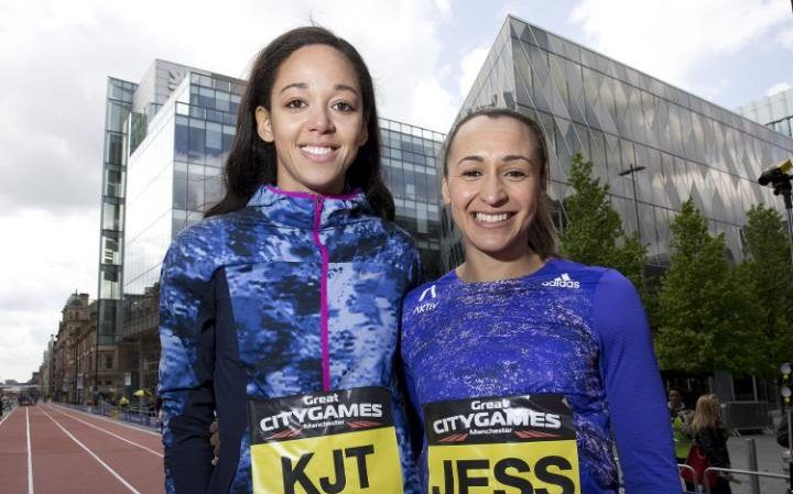 Jessica Ennis-Hill vs Katarina Johnson-Thompson: who is stronger in the seven heptathlon events?