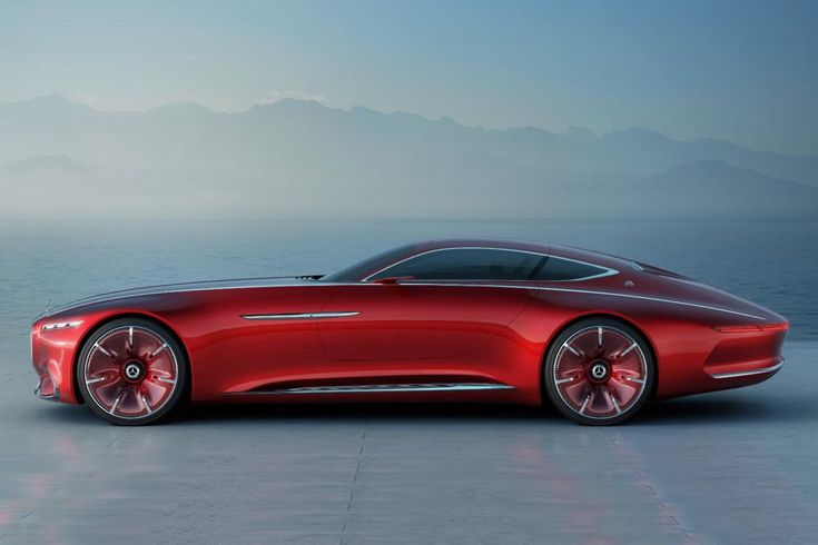 The Vision Mercedes-Maybach 6 Is A Massive Gullwing Luxury Spaceship