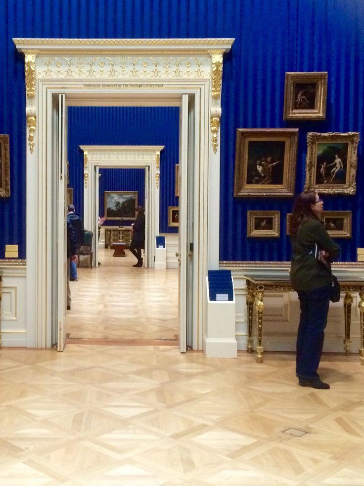 Doors to blue