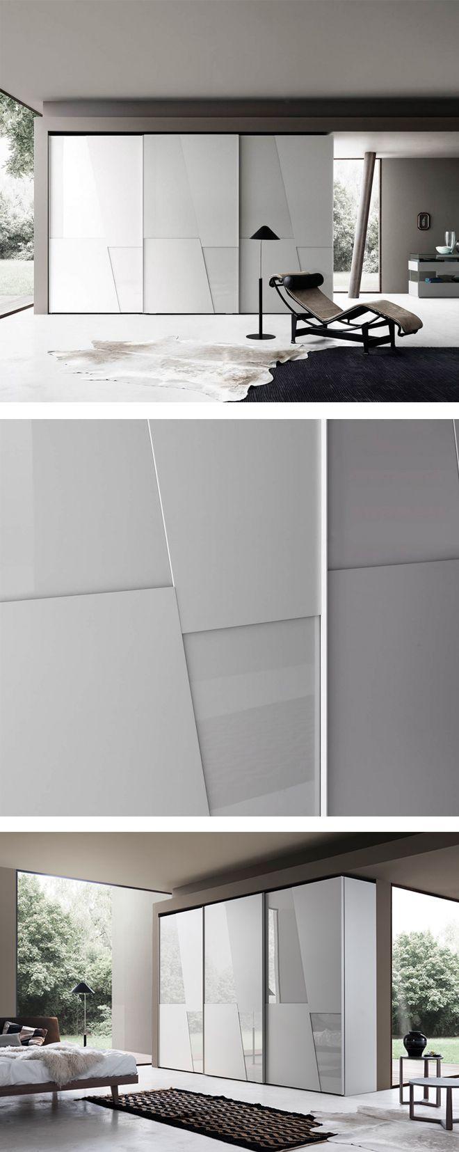 Stunning Livitalia Kleiderschrank Diagonal Schiebet ren