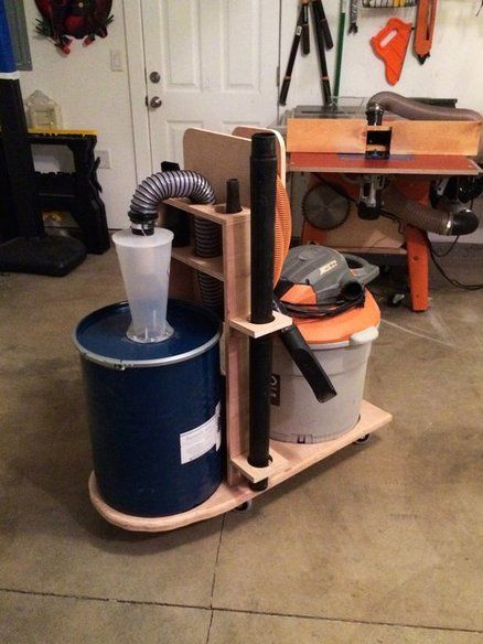 Dust Collector Diy Design Woodworking Projects Amp Plans