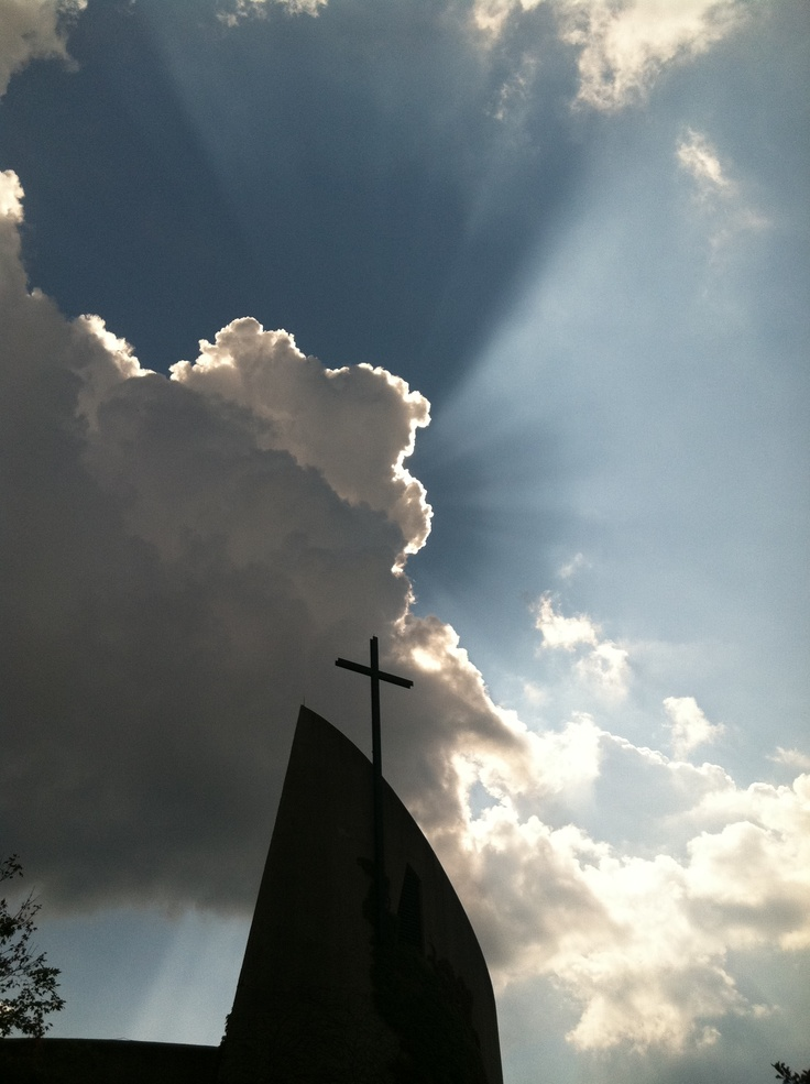 Franciscan University of Steubenville. God truly does know how to put on a show. I love my school :)