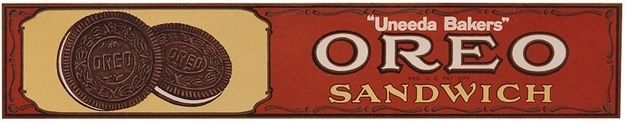 Vintage Oreo packaging from 1931