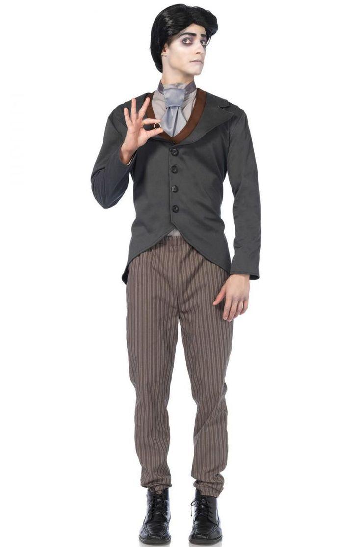 Victor, Corpse Bride Men's Victorian Costume