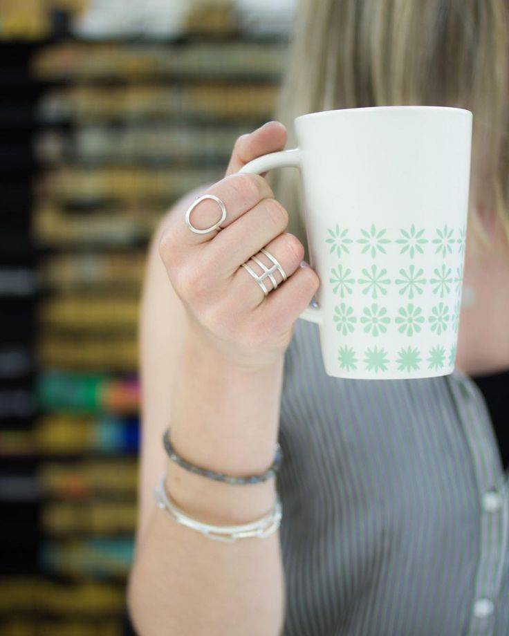 Coffee and gorgeous rings to get through the day! See gorgeous rings from Collection 62 by clicking the image