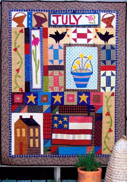 Folk Art Quilt Ideas : 17 Best images about Shar s 18th Birthday Quilt on Pinterest Folk art, Quilt designs and Quilt