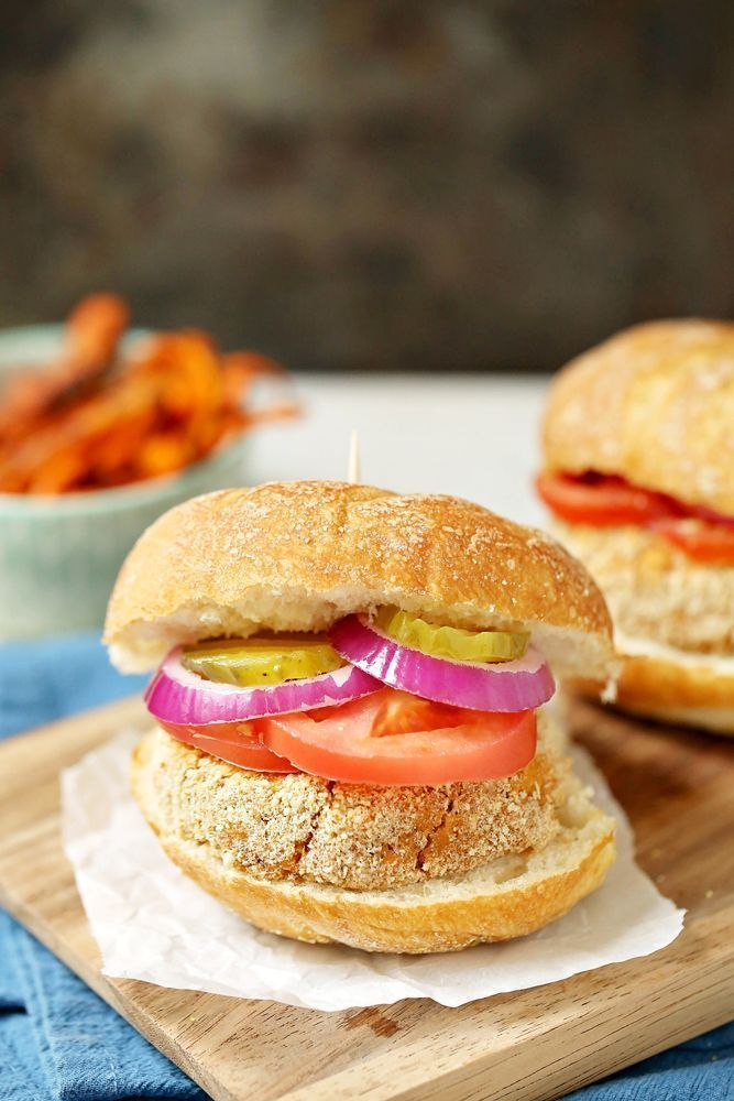 Looking for a healthier classic to traditional burgers and fries? These 5-Ingredient Sweet Potato Burgers with a side of Herb Carrot Fries is exactly the meal you're looking for! Watch the video for the complete how-to or print the simple recipe card.