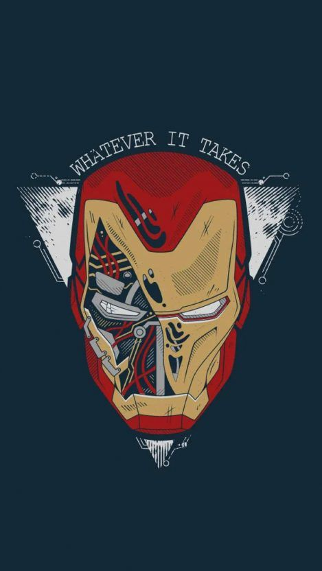 Iron Man Whatever it Takes iPhone Wallpaper