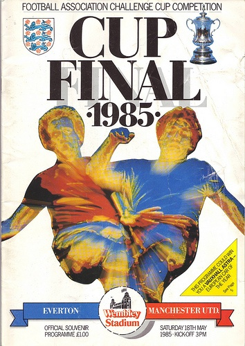 FA Cup Final Programme 1985