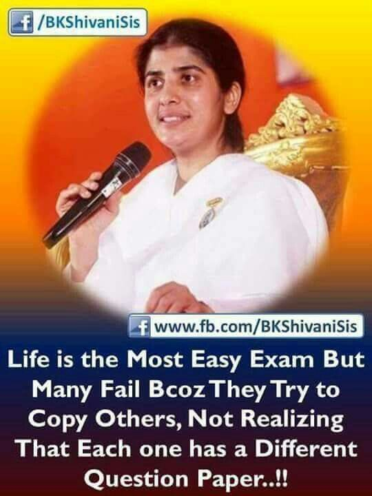 Brahma Kumaris Positive Thinking Quotes: 188 Best Shivani Sister Quotes Images On Pinterest