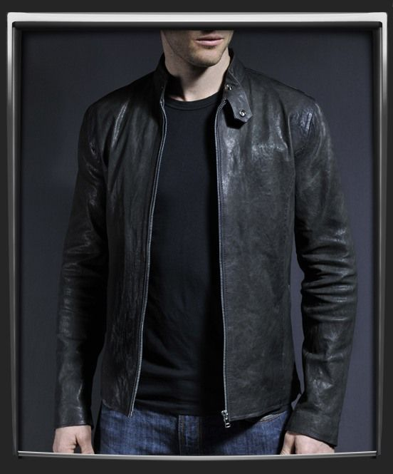 Classic Leather Jackets For Men