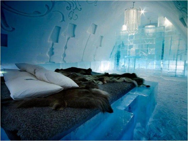 Hotel de hielo... Suecia