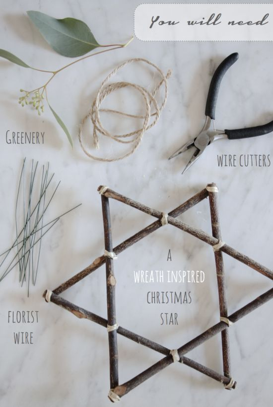 A Wreath Inspired Jewish Star by Holly Marder for Avenue Lifestyle