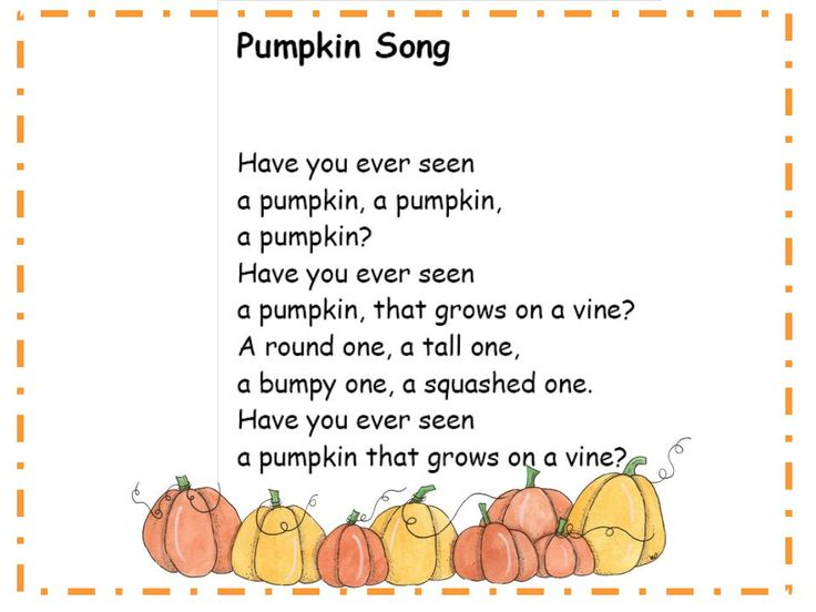 Halloween song for kids  Use this for a scrapbook bag book for halloween