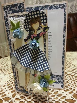 Papierowo zakręcona    : Urodzinowa lalka Julie Nutting