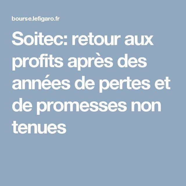 Soitec: retour aux profits après des années de pertes et de promesses non tenues