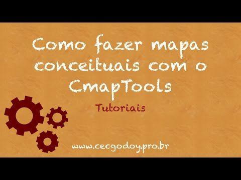Como fazer um Mapa Conceitual com o CmapTools - Conceptual Mapping - YouTube