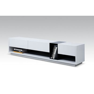 "Bellini Modern Living Lorita 74"" TV Stand | AllModern"