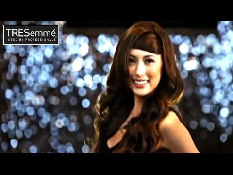 TRESemme Tutorial: Glam Waves ala Asia's Next Top Model by Chandra Gupta