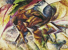Abstract Featured Images - Dynamism of a Cyclist by Umberto Boccioni