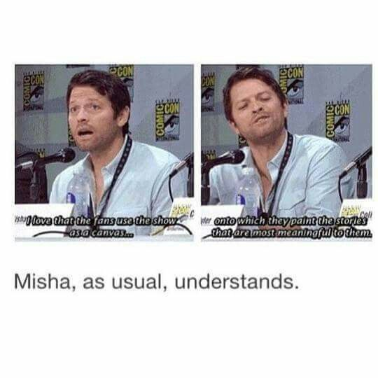 Misha on fanfiction