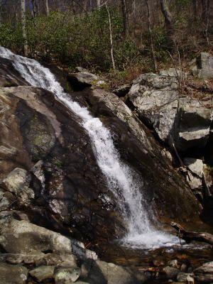 Fallingwater Cascades National Scenic Trail near Peaks of Otter.