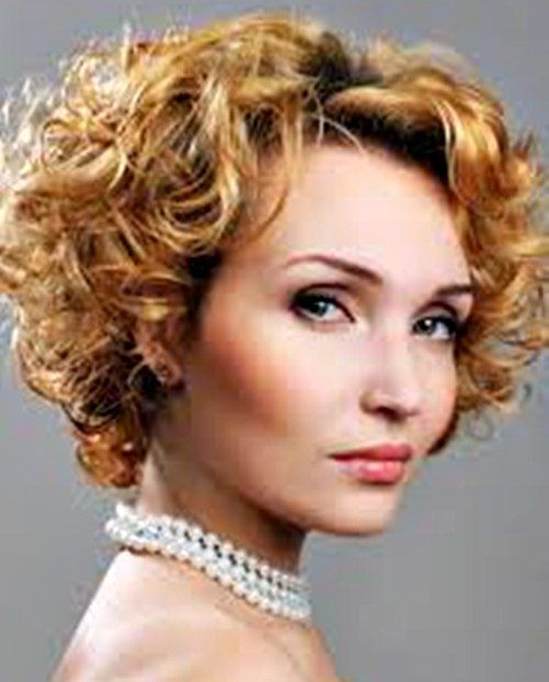 8 best images about Short Curly Hairstyles For Oval Faces on