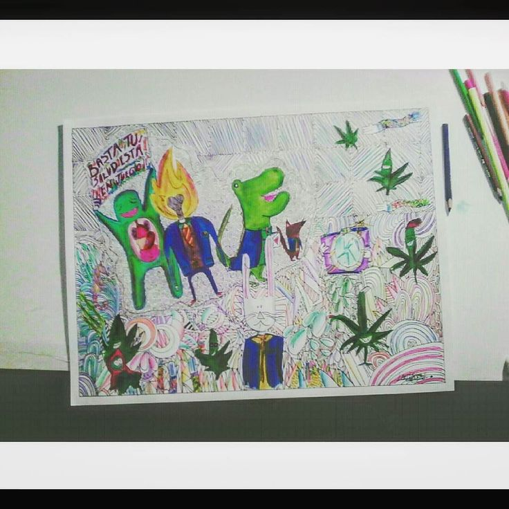 Ms de 25 ideas increbles sobre Arte de marihuana en Pinterest