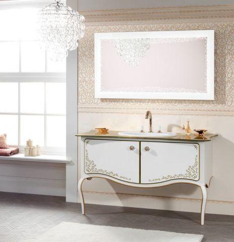 Классическая мебель для ванной комнаты  Классический стиль на протяжении нескольких столетий не теряет востребованность и используется для оформления оригинального дизайна, в том числе и ванных комнат, подчеркивая их элегантность.   Читайте подробнее в статье о классической #мебели для ванной комнаты: http://kornilovs.com/iformation/diz/klassicheskaya-mebel-vannoj.htm/