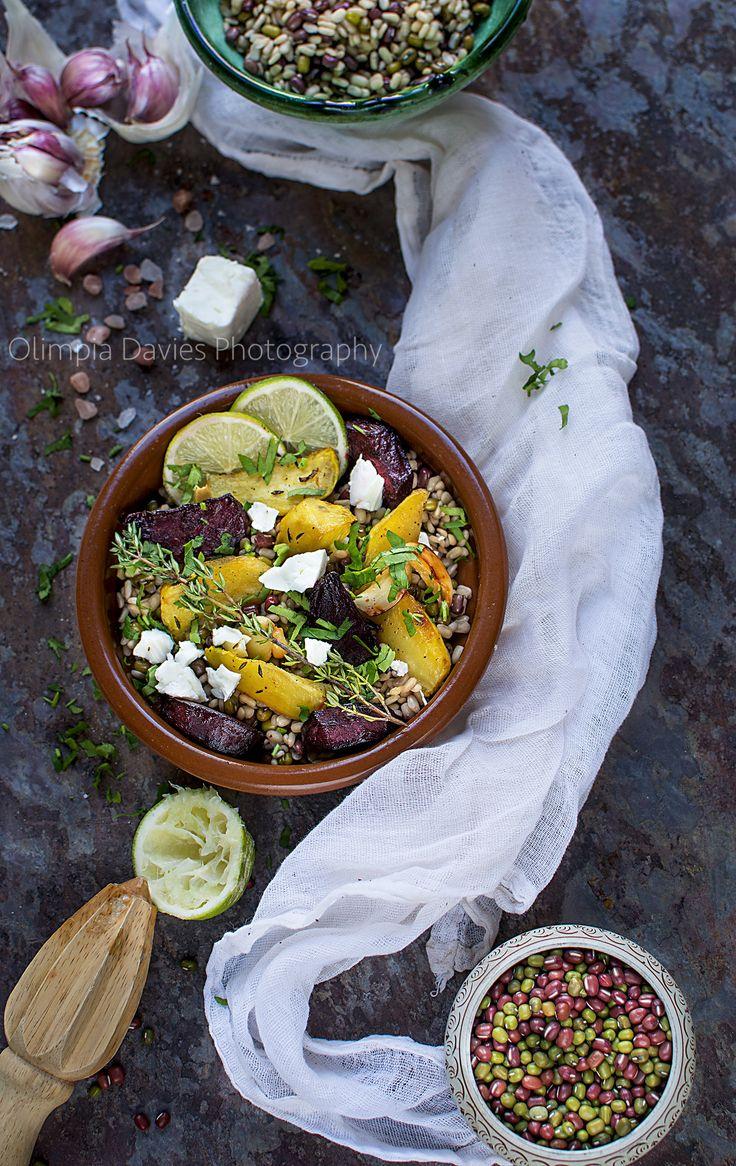 beet salad #beet #salad #beans