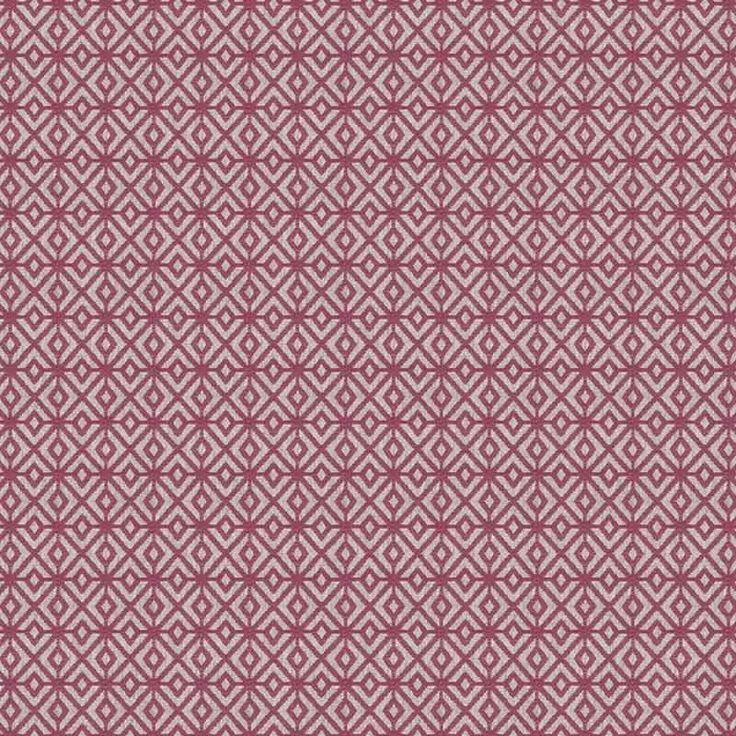 Warwick Fabrics : BOLTON, Colour MAGENTA