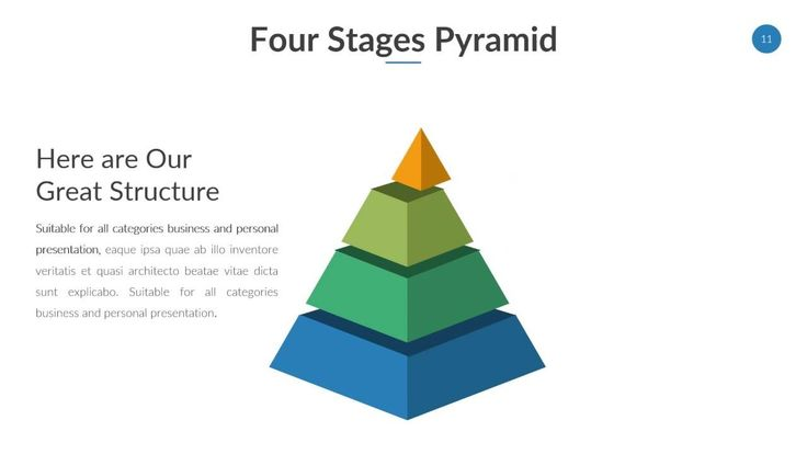 Pyramid Diagram Powerpoint