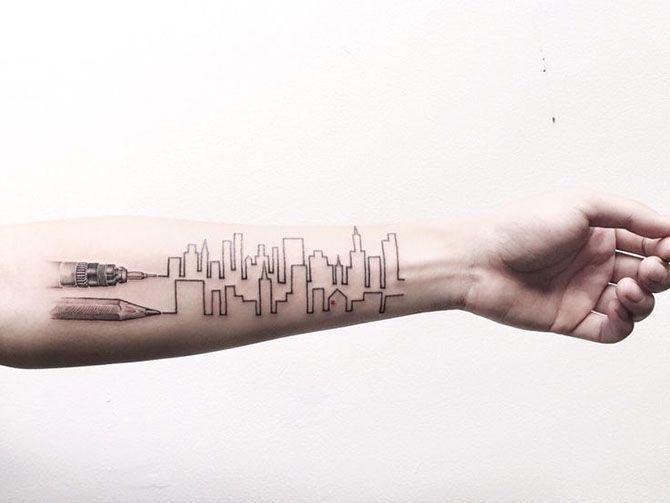 Cansei de CAD: Tatuagens e arquitetura - parte 2