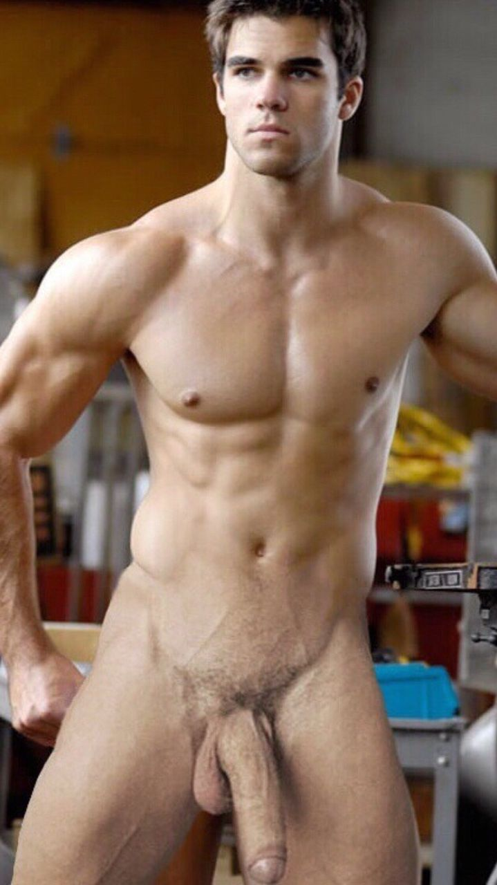 hot men naked model singer