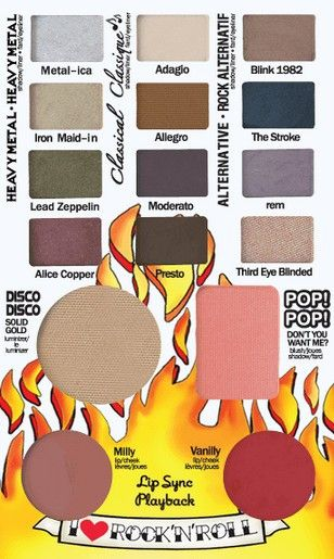 The Balm Jovi Rockstar Face Palette includes everything that you need into one palette. Achieve any look that you would like with the twelve eye-popping eyeshadow shades. The shades can intensify your