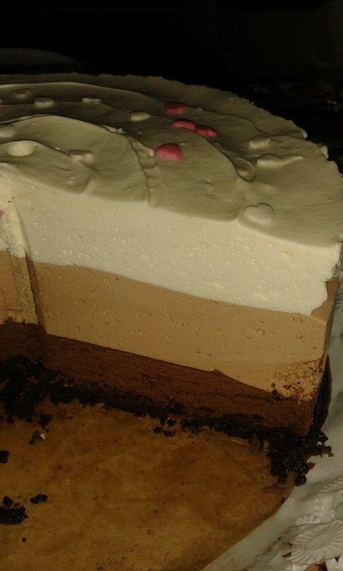 Cristina's world: Tort cu trei feluri de ciocolata